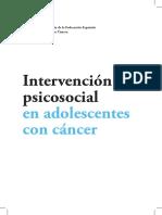 Federación Española de Padres de Niños con Cáncer - Intervención psicosocial en adolescentes con cáncer.pdf