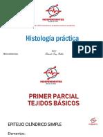FOLLETO DE HISTOLOGÍA PRÁCTICA INDEPENDIENTES MEDICINA
