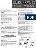 Small Business Week events in Yellowknife NWT #YZF #NWT #PME
