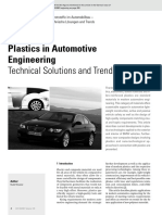Plastics in Automotive