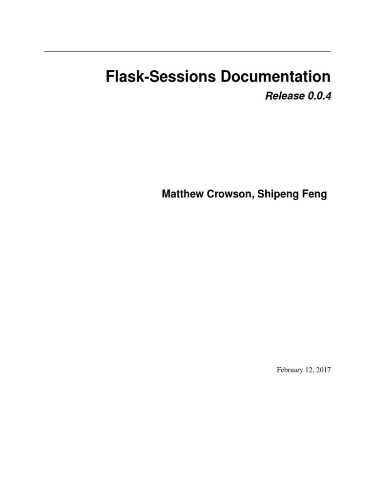 Flask Session   Mongo Db   Http Cookie