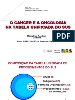 AUDHOSP Cancer Oncologia SUS 2009
