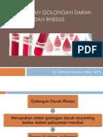 Pemeriksaan Golongan Darah ABO Dan Rhesus.pptx