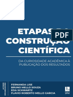 Etapas Da Construção Científica - Da Curiosidade Acadêmica à Publicação Dos Resultados