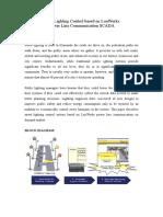 PLC street light automation