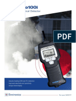 ChemPro100i Handheld Chemical Detector