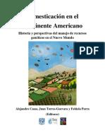 Domesticación en el Continente Americano