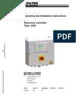 BOLLFILTER Electronic Controller Type 2200.pdf