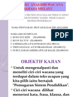 Jbea3111 Analisis Wacana Bahasa Melayu