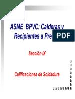 Asme Ix Curso