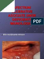 Afectiuni Ulcerative Asociate Cu Deficite Imunologice