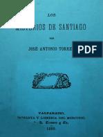 Los misterios de Santiago