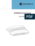 WS2000 System Reference Guide