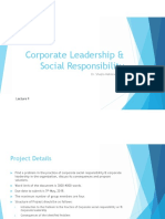 Corporate Leadership & Social Responsibilty_Lecture 9