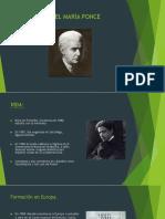 Manuel María Ponce, Vida y Obra