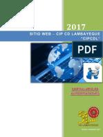 Registro intranet cip