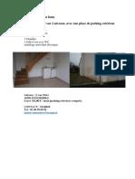 Annonce Location Logement 2 Rue Pelet