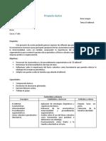 Proyecto Áulico El Editorial
