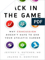 Gerstner, Joanne C._ Kutcher, Jeffrey S - Back in the Game_ Why Concussion Doesn't Have to End Your Athletic Career-Oxford University Press (2017)