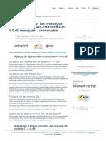 Comment Corriger Les Erreurs API Ms Win Crt Runtime l1 1 0.Dll