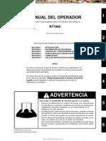 Manual Grua Rt700e Grove Operacion Seguridad Controles Configuraciones Lubricacion Mantenimiento