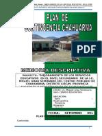Plan de Contingencia de Chahuarma