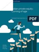 Indian Private Equity Coming of Age