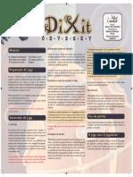 Dixit Odyssey Regras PT