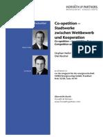 Horvath Partners Co-Opetition Stadtwerke Zwischen Wettbewerb Und Kooperation