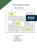 Diseño de Losa en El Programa Etabs