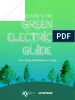 Green Electricity Guide Greenpeace Australia Pacific