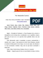Alexandre Cumino - Iansã, o trono feminino da lei