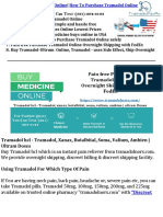 Tramadol - Tramadol dosage, Tramadol Works | Tramadol hcl 50 mg