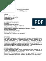 Progetto Educativo Nido Fagottino