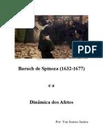 [Plano Do Curso] Baruch de Spinoza (1632-1677)