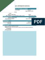 Form 07 - Solicitação de Matrícula - Aline Alves Do Carmo