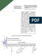 Anulan prisión preventiva para Vicente Silva Chica y Luis Mejía Lecca