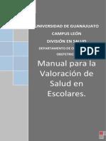 Manual de Tecnicas y Procedimientos de Valoracion Fisica