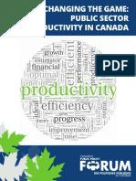 CA en Public Sector Productivity