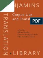 Beeby Corpus Use and Translating Corpus Use for Learning to Translate and Learning Corpus Use to Translate