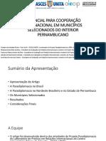 Apresentação - Gustavo Rocha - Alacip 2017