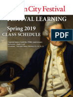 Festival Learning Spring Class 2019
