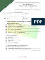 1 - Os Números Naturais - Teste Diagnóstico (1)