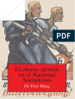 Obrero Aleman en El Nacional Socialismo, El - Mang, Fritz (1)