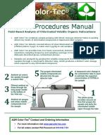 AQR Color-Tec Manual 2013 Revision
