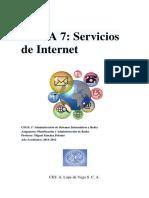 Tema 8. Elementos de Interconexión de Redes y Cortafuegos