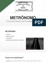 METRÔNOMO