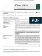 Elizabeth Et Al. Effectiveness of Hypnosis Therapy and Gestalt Therapy as Depression Treatments. Clínica y Salud [Online]. 2017, Vol.28, n.1