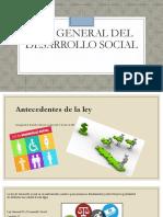 Ley General Del Desarrollo Social