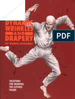 1995 - Burne Hogarth - Dynamic Wrinkles and Drapery